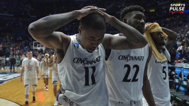 SportsPulse: USA TODAY Sports' Scott Gleeson breaks down how three dominant college basketball programs — Michigan State, Cincinnati and North Carolina — lost in the second round on Sunday.
