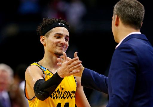 SportsPulse: Despite being eliminated with a loss to Kansas State, UMBC players and head coach Ryan Odom reflected on their historic run in the NCAA tournament.