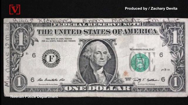High Quality Tip About Missing Arizona Girl Found On Dollar Bill In Wisconsin