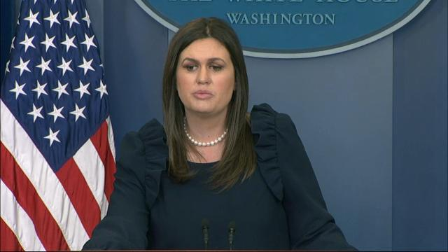 White House press secretary Sarah Huckabee Sanders defends President Donald Trump's congratulatory call to Russian President Vladimir Putin on his re-election, noting that then-President Barack Obama made a similar call in 2012. (March 20)
