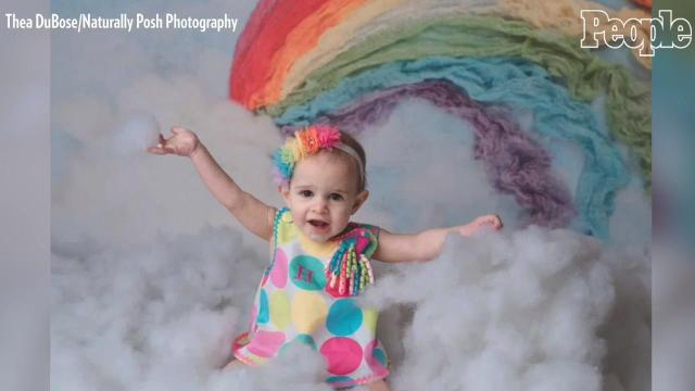 Woman welcomes miracle rainbow baby after 5 miscarriages