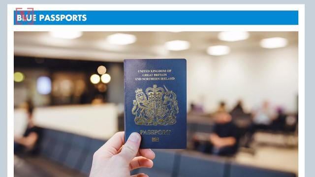 Post-Brexit passports set to be made by Franco-Dutch firm