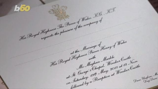 Prince Harry And Meghan Markle's Wedding Invites Have Been