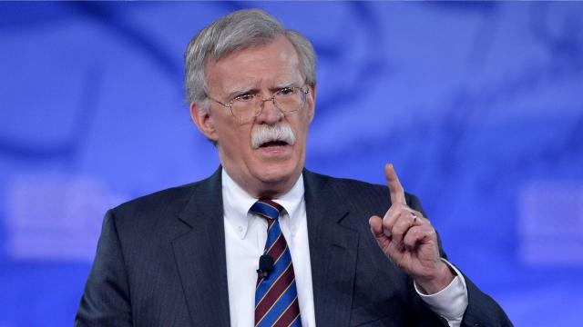 Trump picks John Bolton to replace McMaster as national security adviser