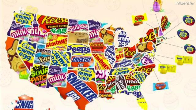 Peeps jelly beans chocolate how much sugar fat is in easter candy your kids easter basket likely packs over a months worth of sugar negle Choice Image