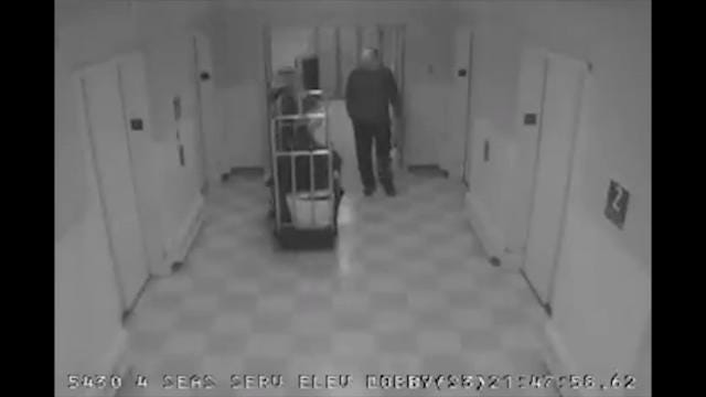 Hotel surveillance video shows Stephen Paddock going about the routine of moving luggage and playing slots in the days before he took the lives of 58 people in the deadliest mass shooting in modern U.S. history. (March 23)
