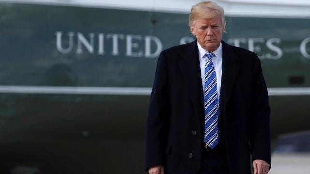 A new report says President Trump is asking his advisers whether or not to discuss the alleged affairs that he had before taking office.