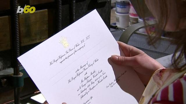 There appears to be a slight mistake on the royal wedding invites