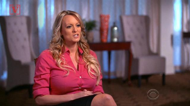 Stormy Daniels and Donald Trump, brought to you by Mike Pence and the religious right