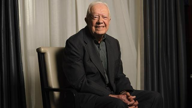 Jimmy Carter: 'Apparently' America wants a jerk for president
