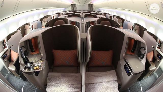 Boeing 787-10: Singapore Airlines unveils new cabin interior