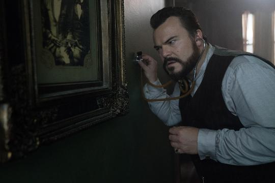 Jack Black stars as a warlock and Cate Blanchett is a good neighbor witch in the magical adventure 'The House With A Clock in Its Walls.'