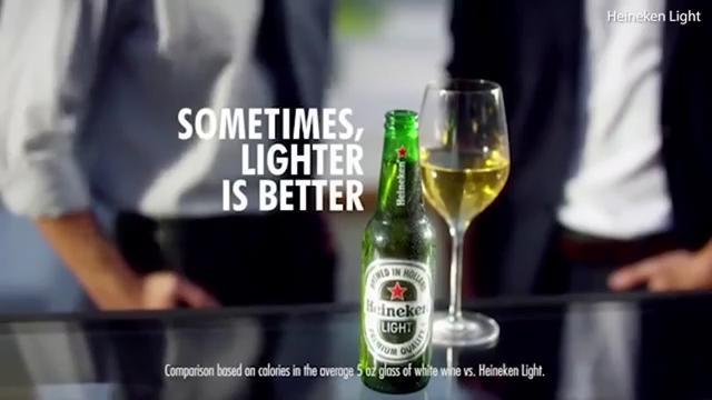 Heineken pulls lighter is better ad after some call it racist heineken pulls lighter is better commercial after some call it racist aloadofball Images
