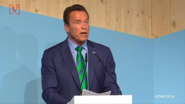 Arnold Schwarzenegger inspired son Patrick stop smoking weed