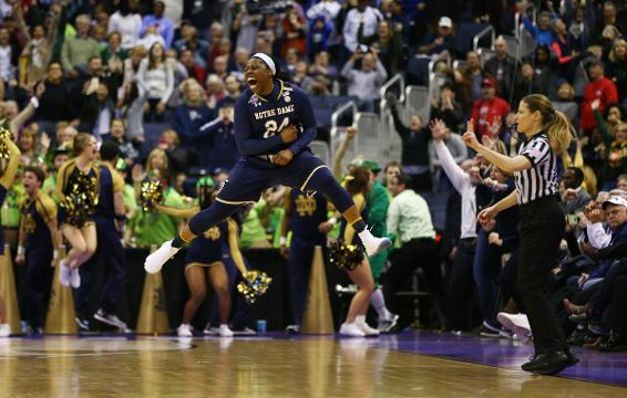 We hear from both teams following Notre Dame's upset victory over UConn in the Final Four.