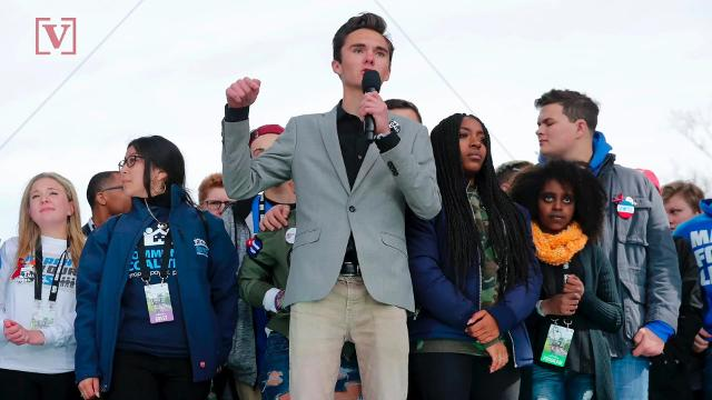 Parkland's David Hogg to McCain: 'Why do you take so much money from the NRA?'