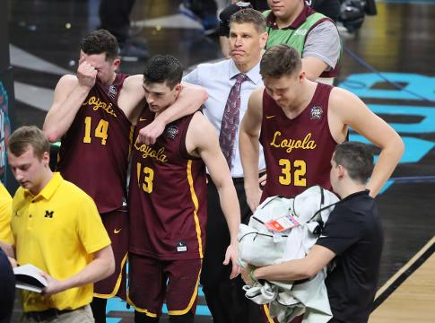 Loyola-Chicago's head coach and players reflect on their season and Cinderella NCAA tournament run in their postgame press conference.