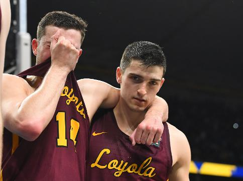 SportsPulse: Loyola-Chicago players were sad to see their improbable Final Four run come to an end, but said they were grateful for the experience.