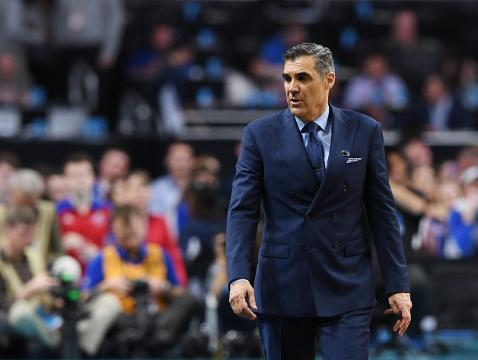 The Villanova coach said that Kansas is a great team, but the Wildcats just happened to hit everything in their Final Four victory.