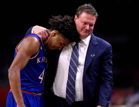 In their postgame press conference, Kansas players and their head coach say that they would have had to play perfect Saturday night to beat Villanova.