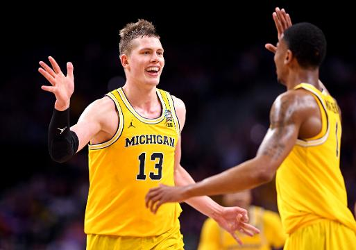 National title game: Can Moe Wagner and Michigan topple Villanova?