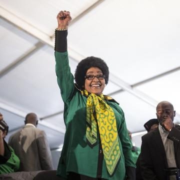 Winnie Mandela, South African activist, dies at 81