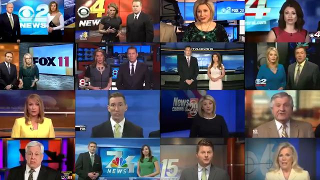 Sinclair defends itself over uproar after local news anchors read anti-'false news' screed