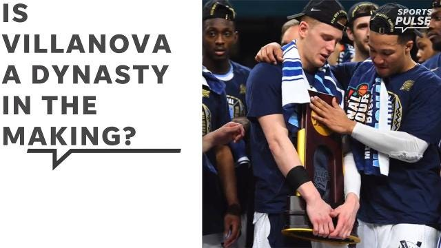 SportsPulse: Villanova had nearly the perfect season and won their second title in three years, and USA TODAY Sports' Scott Gleeson believes there's no reason the Wildcats can't go for another one next season.