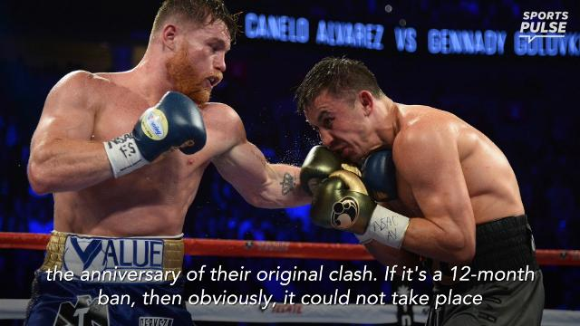 The highly anticipated rematch between Canelo and GGG will have to wait at least six more months after Alvarez tested positive for clenbuterol.