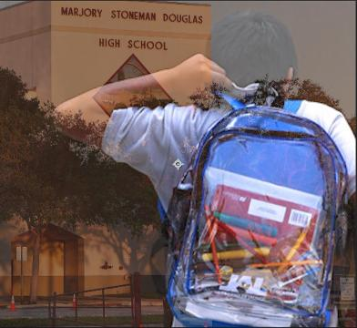 9ffe0e1ab9 Parkland student fills his clear backpack with tampons as new school  security measure is in effect