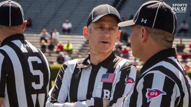 USA TODAY Sports' George Schroeder hit the field as an official during a South Carolina spring game. He now has a new respect for the job.