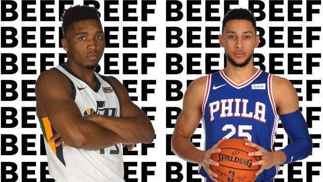 887ba1af4 Who s right in Ben Simmons-Donovan Mitchell beef