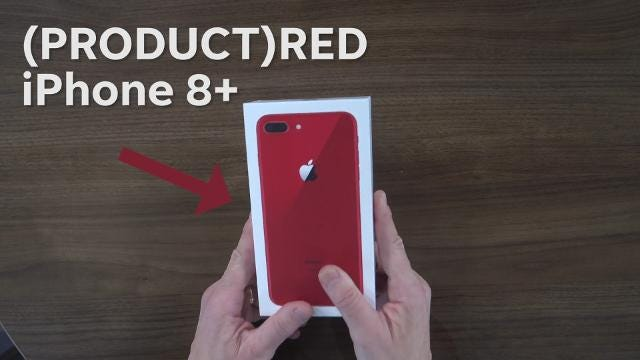 It's the same iPhone you know and love, but USA TODAY Tech Columnist Ed Baig shows us how the new red color also helps support a good cause.