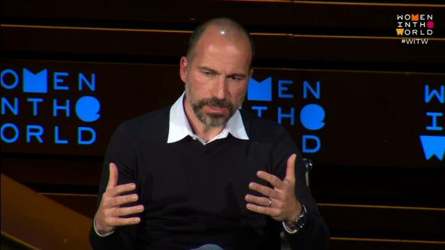 Uber CEO discusses dangers of technology