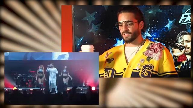 Columbian-born Maluma has conquered most of the Latin-music world. Now his sites are set on the US. (April 11, 2018)