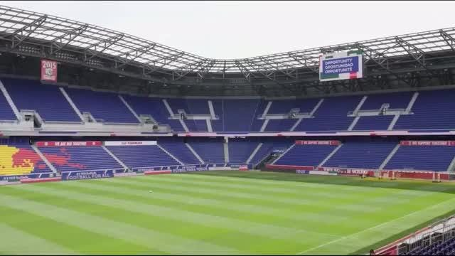 FIFA's 2026 World Cup Bid Evaluation group visits potential match sites near New York City. Video provided by Reuters