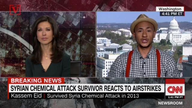 Syrian chemical attack survivor wants to buy President Trump a beer