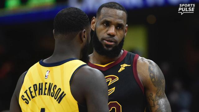 6937228b89e2 LeBron James vs. Lance Stephenson  A history of their on-going beef