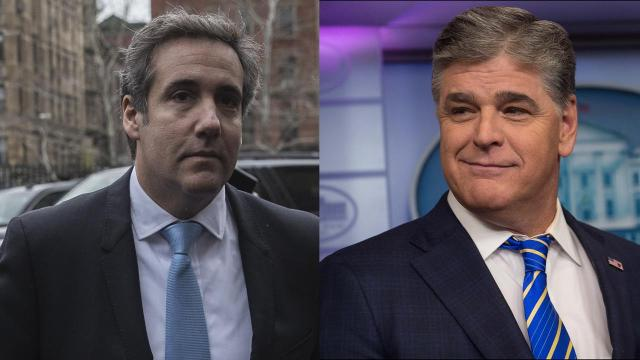 "President Donald Trump's attorney Michael Cohen has revealed in federal court that Fox News host Sean Hannity secretly received legal advice from him in the past year – the so-called ""third client"" whose identity Cohen sought to keep private."