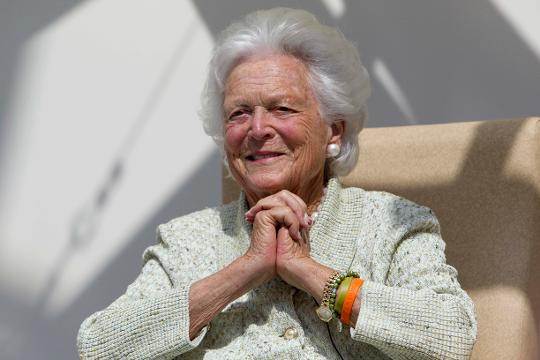 Former first lady Barbara Bush leaves a legacy of love and literacy.