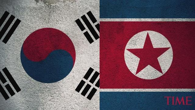 South and North Korea are discussing plans to announce an official end to the military conflict between the two countries that are still technically at war, the Munhwa Ilbo newspaper reported, citing an unidentified South Korean official.