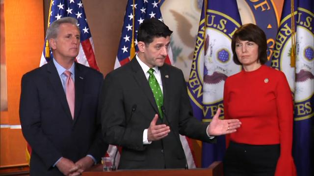 Ryan defends direction of U.S.-Russia ties