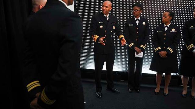 Hasil gambar untuk 'Thank you for your service:' Surgeon General's uniformed corps battles opioid epidemic