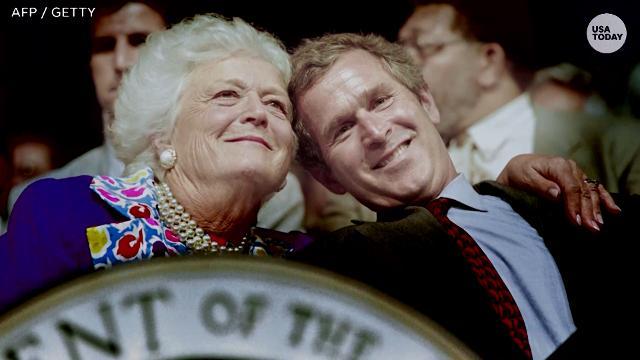 Barbara Bush, former first lady and matriarch of Bush family