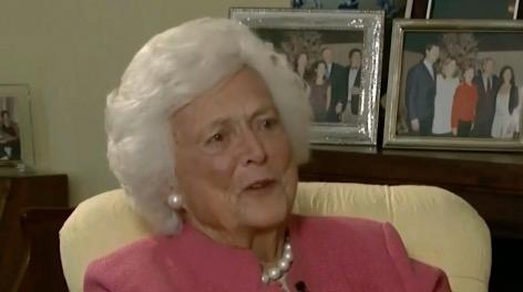 Barbara Bush will be remembered as a fierce defender of the members of her family.  She was also the family humorist, and her tack-sharp wit has left an indelible mark on many who crossed her path.