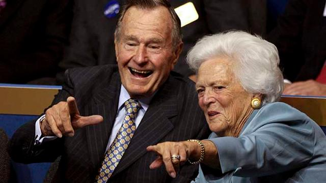 Barbara Bush, who died at age 92, was an integral part of both her husband, George H.W. Bush, and her son, George W. Bush, becoming president.