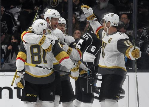 SportsPulse: The Vegas Golden Knights are rewriting the history books on what it means to be an expansion team and in the process captivating a city. Our NHL insider Kevin Allen believes their magical run could end with a Stanley Cup.