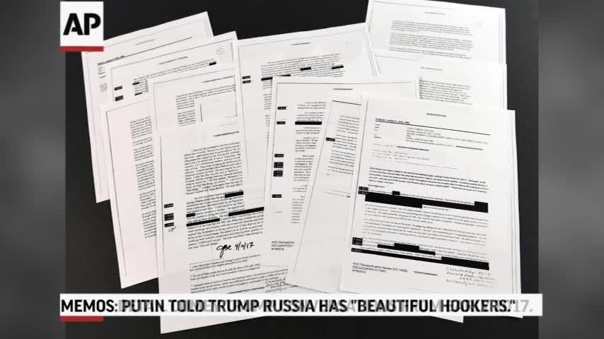 Memos: Trump Said Putin Bragged About Hookers