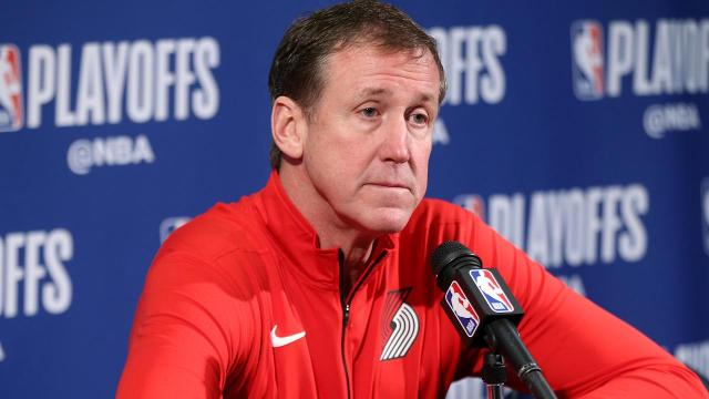 Portland Trail Blazers head coach Terry Stotts could reportedly be on the hot seat after another early playoff exit.