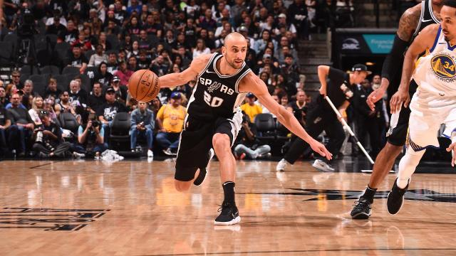 The San Antonio Spurs broke the Golden State Warriors' 18-game postseason win streak against the Western Conference with a 103-90 win to force game five Tuesday in Oakland.